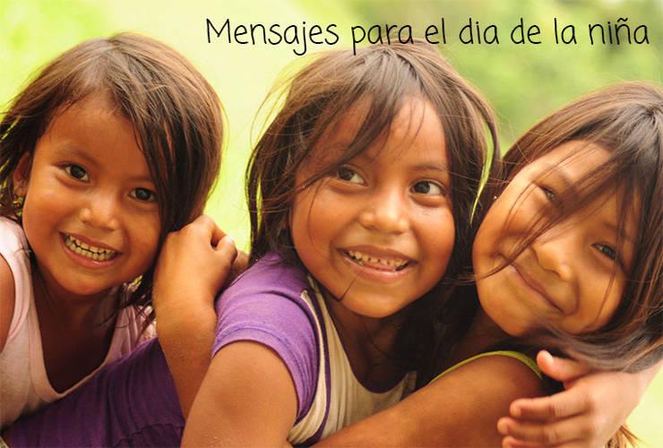 Mensajes para el día Internacional de la Niña