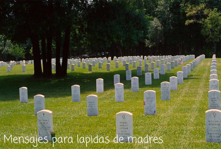 Mensajes para Lapidas de Madres
